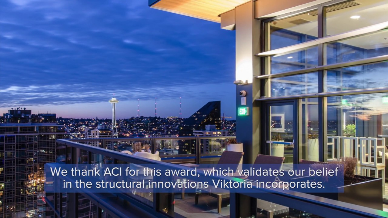 High Quality Excellence In Concrete Construction Awards High Rise Second Within High Rise Apartments Seattle