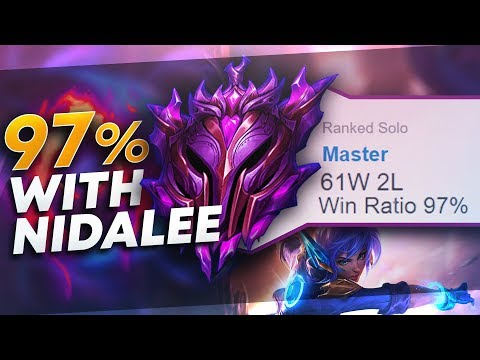 MASTER TIER 97% WINRATE - Nidalee Full Guide | League of Legends