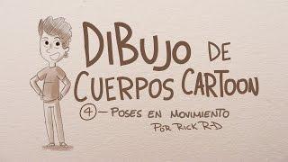 Como dibujar personajes corriendo en movimiento - Tutorial de dibujo cartoon por Rick Ruiz-Dana