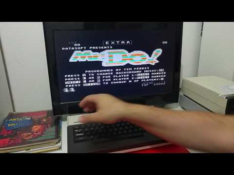 Demo of the Ultimate 1MB upgrade and how it works with the SIDE2 Cartridge