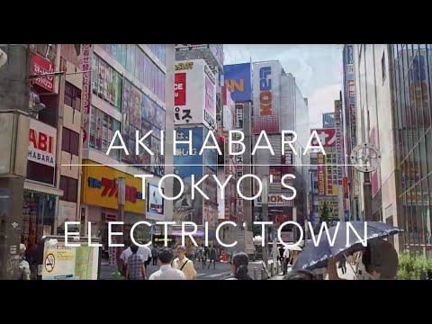 Akihabara, Tokyo's Electric Town   Tokyo Japan
