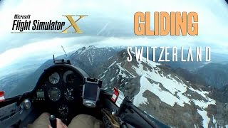 FSX - Aerosoft ASK21 Mi -  Gliding Switzerland - TrackIR