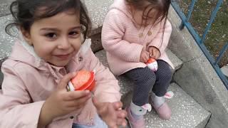 Ayşe Ebrar ve Asel Kinder Sürpriz Yumurta Alıp Açtılar. İçinden Acaba Hangi Oyuncaklar Çıktı?