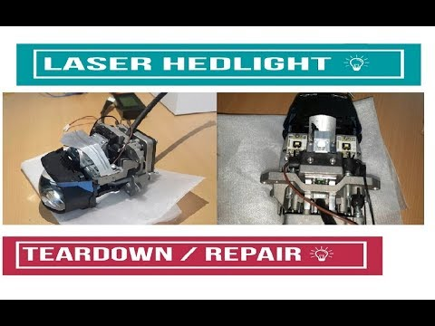 Laser Headlight Teardown and How to Repair color change
