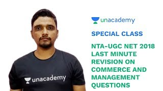 Special Class - Last Minute Practice Session on Commerce and Management Questions (NET)- Naveen Sakh