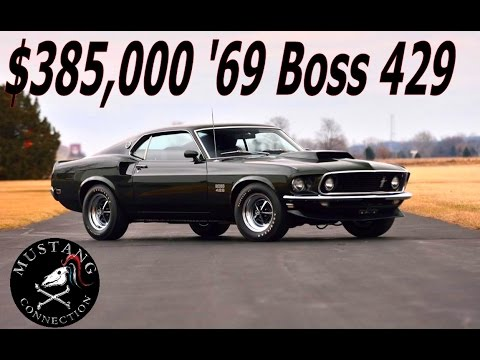 Lot 1400 1969 Ford Mustang Boss 429 Barrett Jackson Scottdale 2017 Connection