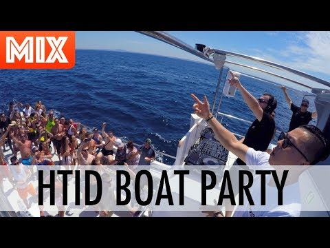 Cotts & Ravine rock the HTID Boat Party MIX (Magaluf, Mallorca)