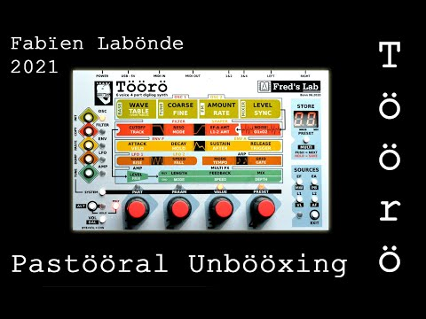 SYNTH DEMO #28 Unboxing Töörö [Fred's Lab] and Beethoven