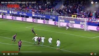 Tin Thể Thao 24h Hôm Nay (19h - 21/11): Vòng 12 La Liga - Eibar Thắng Đậm Real Betis