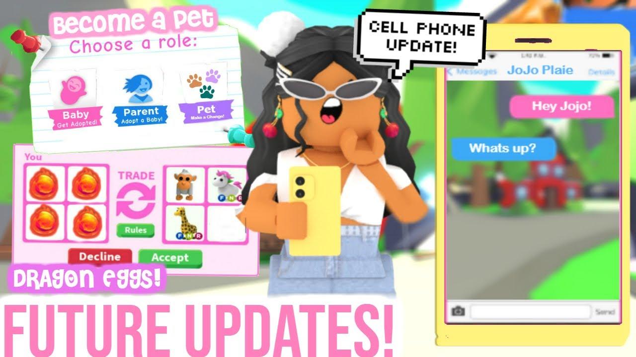 Adopt Me Future Updates!!! *Added CellPhones* | SunsetSafari