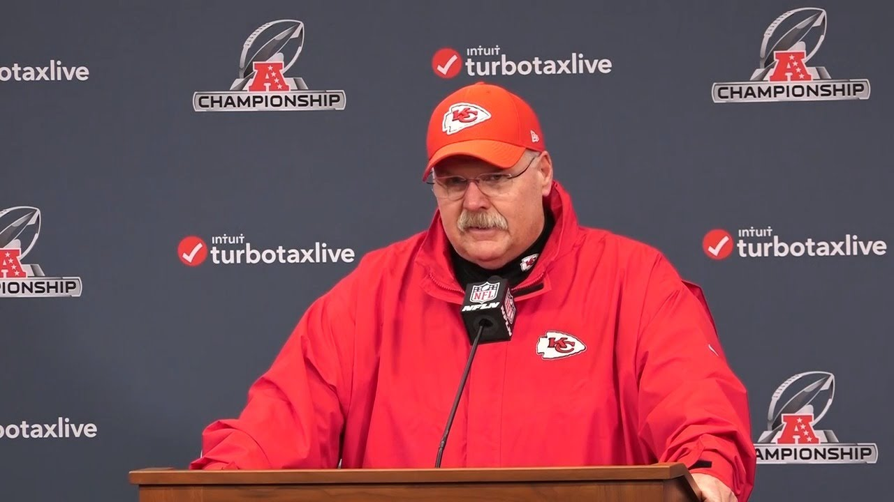 Andy Reid after Chiefs lose AFC Championship Game in overtime