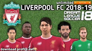 """How to download dream league soccer 2018 create full liverpool fc team watch this video now profile.dat ഞങ്ങനെ വർക്ക്"""" ചെയ്യാം watc..."""