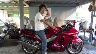 カワサキZZR1100D 参考動画 私のバイク観を変えたバイク