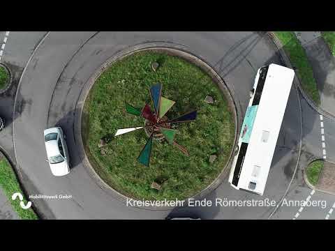 Rheinberg - Drohnenüberflug November 2020