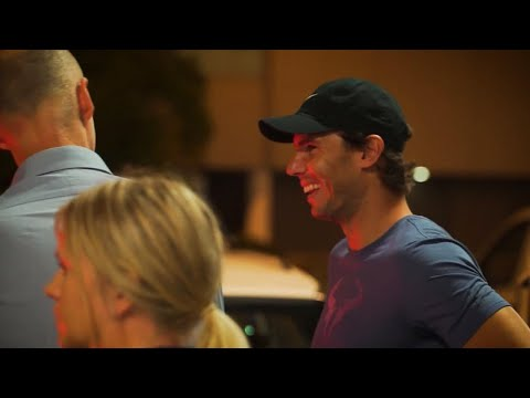 Rafael Nadal arrives in Brisbane | Brisbane International 2019