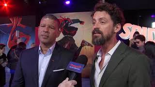 Spider-man Into The Spider Verse LA World Premiere - Itw Peter Ramsey And Bob Persichetti
