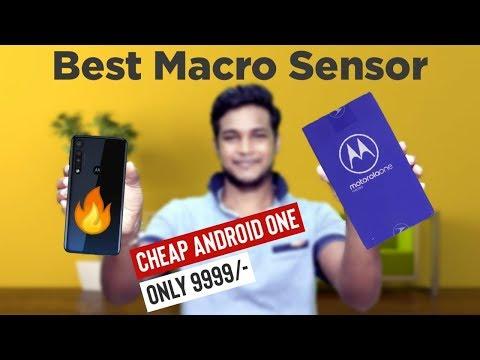 Motorola One Macro Unboxing And Quick Review🔥| Best Macro Sensor Till Date | DJ TechC