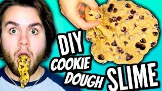 DIY Edible Cookie Dough Slime! | How To Make Slime You Can EAT Tutorial! | Fun & Easy DIY!