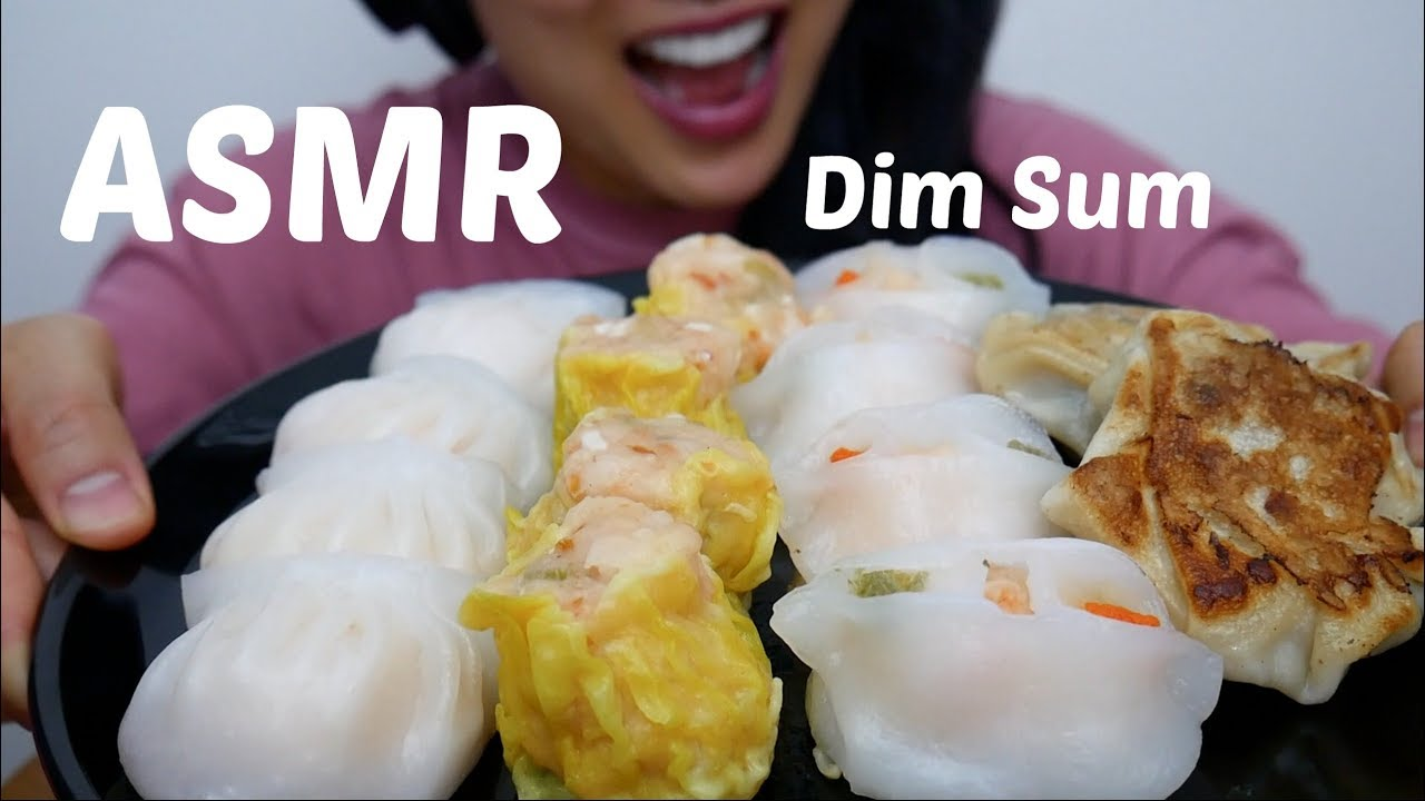 ASMR Chinese Dim Sum (SOFT EATING SOUND) No Talking | SAS-ASMR