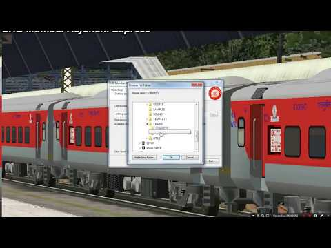 How To Install Major Stocks In MSTS For Playing INDIAN RAILWAY WITH SOME MUSIC