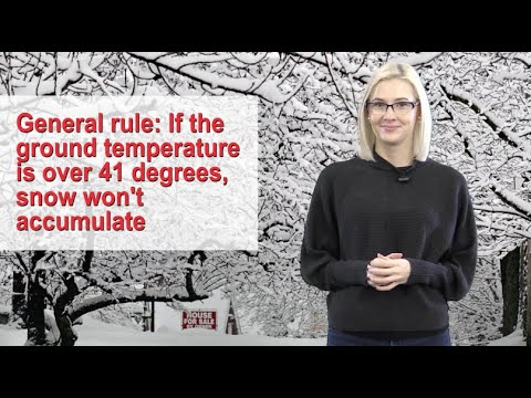 How Can Snow Fall In Above-freezing Temperatures?
