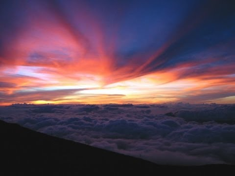 Beautiful Haleakala Sunset || Timelapse ||