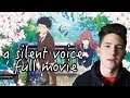 Koe No Katachi Full Film Reaction Thoughts A Silent Voice
