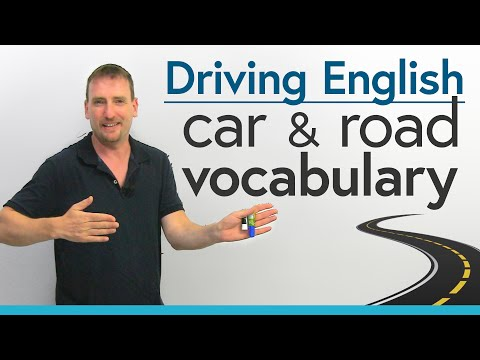 Driving in English: Car & Road Vocabulary