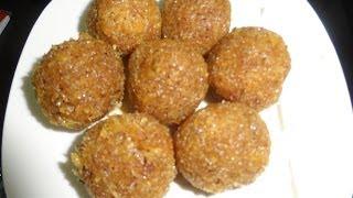 Kobbari Laddu (బెల్లం కొబ్బరి వు0డలు)