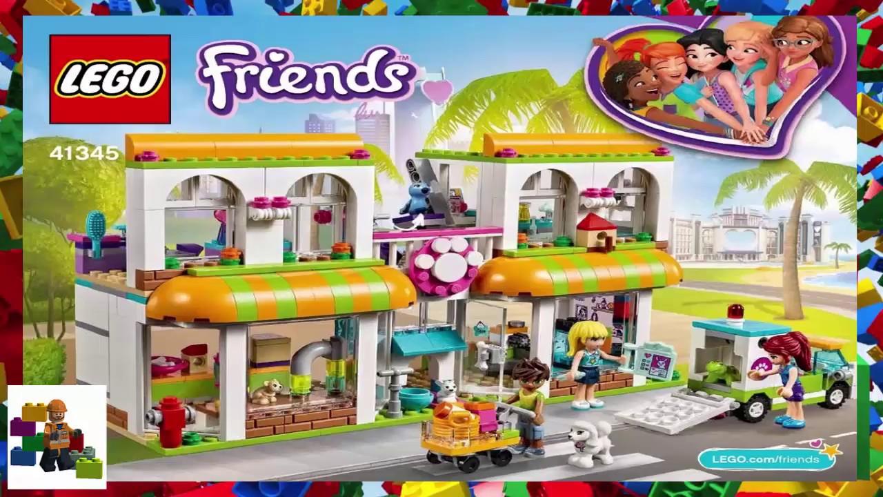 Lego Instructions Friends 41345 Heartlake City Pet Centre