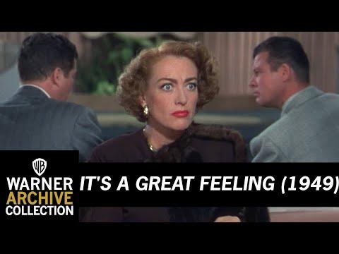 It's A Great Feeling 1949 –  Joan Crawford Slapping Men!