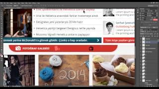 Photoshop Web Tasarım Dersleri 14 Fotoğraf ve Galerisi Yapımı