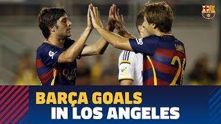 Relive Barça goals in Los Angeles