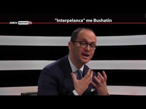 REPORT TV, 5 PYETJE NGA BABARAMO   I FTUAR DITMIR BUSHATI   PJESA E DYTE