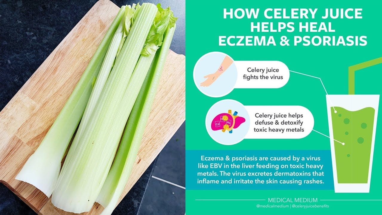 CELERY JUICING FOR ECZEMA: DOES IT REALLY WORK?
