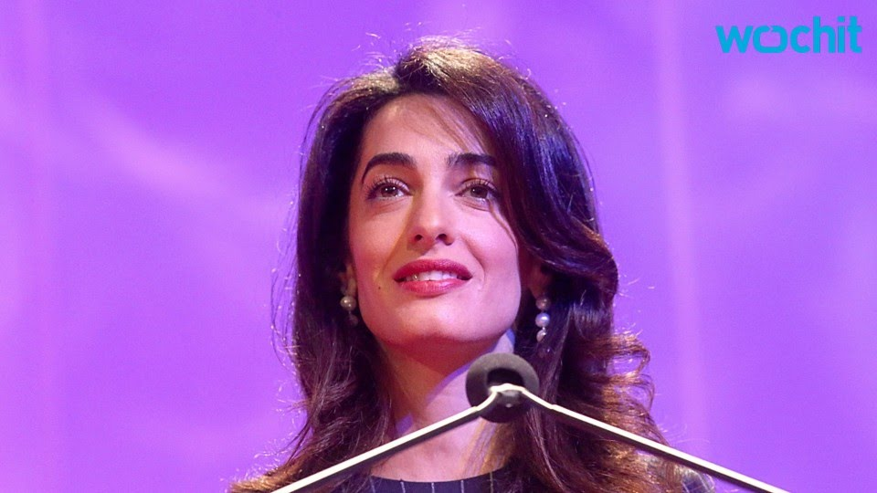 Amal Clooney Issues Warning to Donald Trump