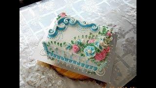 """УКРАШЕНИЕ ТОРТОВ , Торт """"СОФИЯ""""  от SWEET BEAUTY СЛАДКАЯ КРАСОТА, CAKE DECORATION"""