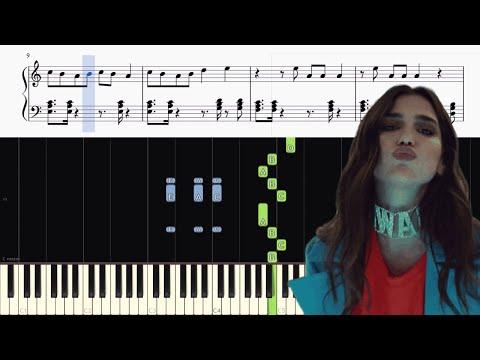 Dua Lipa - New Rules - Piano Tutorial + SHEETS