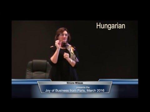 Hungarian Joy of Business Book Launch - 2016