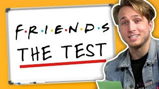 "WE TAKE ""THE TEST"" FROM FRIENDS (Squad Vlogs)"