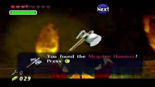 Ocarina of Time Part 12. Fire Temple 4
