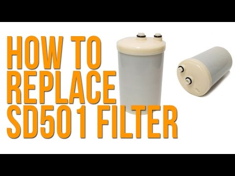 How To Replace a SD501 Enagic Kangen Water Filter