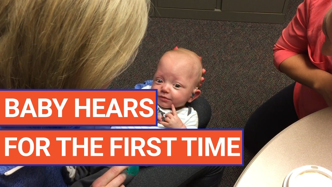 Baby Hears For The First Time Video 2017 | Daily Heart Beat