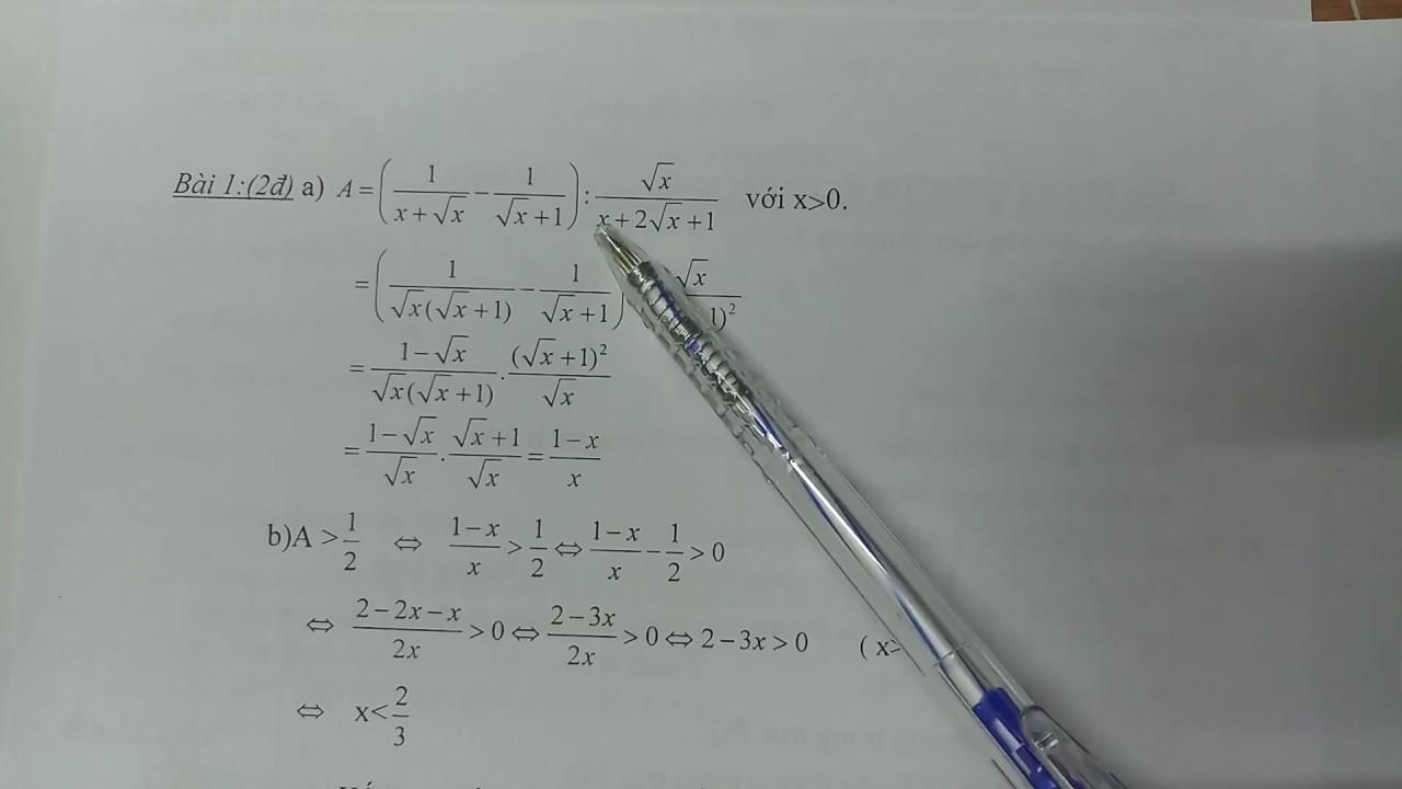 Tìm hiểu đề và đáp án đề thi vào lớp 10 môn Toán tỉnh Bình Định