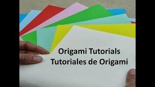 #Origami Tutorials DIY - Manualidades de Origami