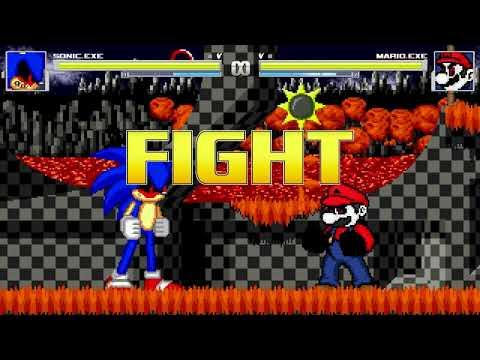 AN Mugen Request #1212: Sonic.exe VS Mario.exe