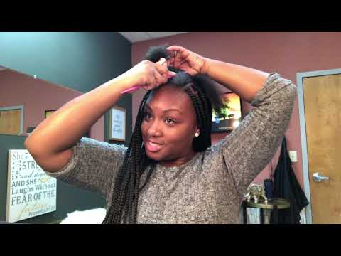 Learn how to Boxbraid your own Hair!