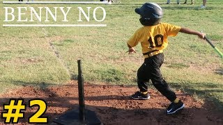 TEE BALL AND PICKING YOUR NOSE | BENNY NO | COACH PITCH/TEE BALL SERIES #2