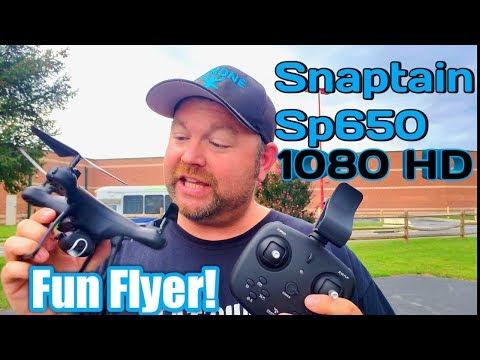 Snaptain Sp650 Fun Flyer 1080p HD!
