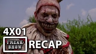 5 Scariest Moments from AHS Freak Show Season Premiere 4x01 RECAP